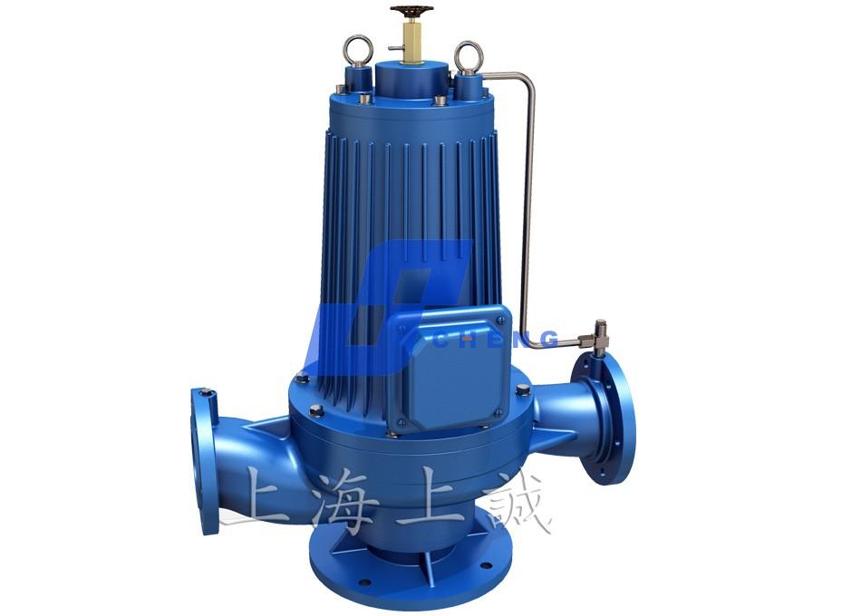 PBG型屏蔽式管道离心泵