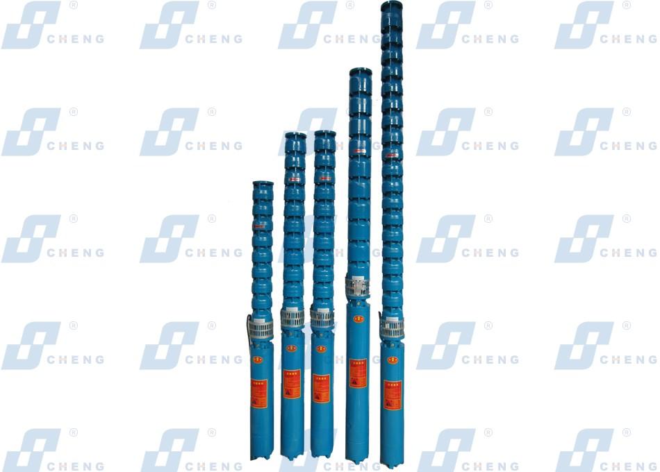 QJ系列深井潜水电泵